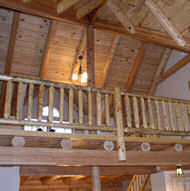 Tongue and Groove - Log Home Builing Material   Discount Log