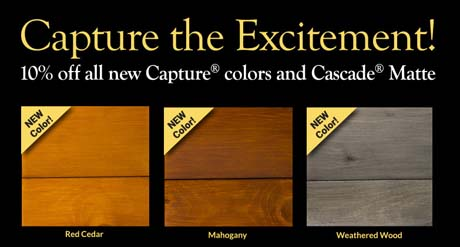 New Capture Colors Special Discount